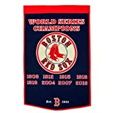 Boston Red Sox World Series Championship Dynasty Banner - with hanging rod