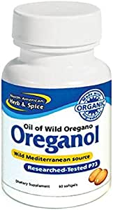 North American Herb and Spice, Oreganol P73 Gel-Capsules, 60-Count