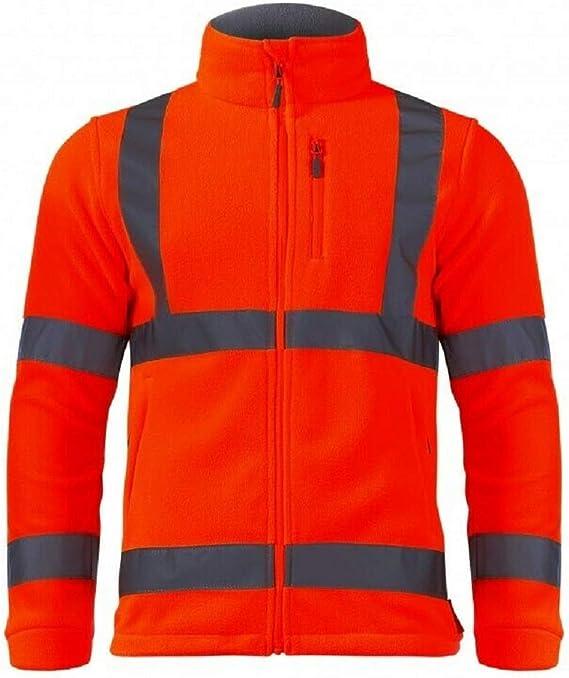 Winterpulli LAHTI PRO L40110 ORANGE Arbeitspullover Pullover Fleecejacke Herren