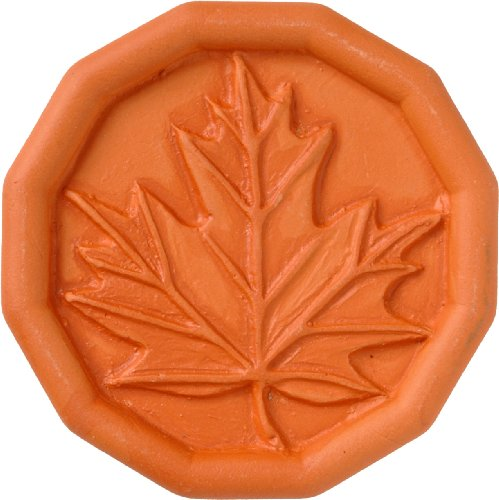JBK Maple Leaf Terra Cotta Brown Sugar (Pottery Leaf)