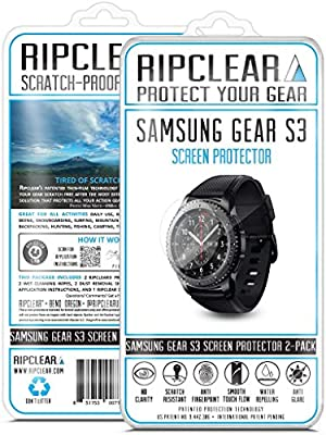 Ripclear Samsung Gear S3 Smartwatch Screen Protector Kit ...
