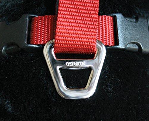 Image of Kurgo 1406 Tru-Fit Crash Tested Dog Harness, Large, Red