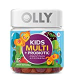 We know kids' taste buds are super sensitive. No wonder they might be scared of spinach and bitter about broccoli. Thing is, when kids win the battle over dinner, they lose out on essential nutrition. OLLY Kids Multi and Probiotic Gummy Vitamin de...
