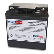 IBT BT28-12HB 12V 28Ah Sealed Lead Acid Battery Replacement - Nut & Bolt Terminals