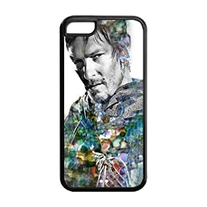 Mystic Zone Personalized The Walking Dead Daryl Dixon Cover Case for Iphone 5C TPU (Cheap IPhone5)