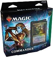 Magic The Gathering: Kaldheim| Commander Deck | Elven Empire | 99 cards | 1 Foil Commander | 10 Tokens Dupla F