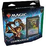 Magic The Gathering: Kaldheim  Commander Deck   Elven Empire   99 cards   1 Foil Commander   10 Tokens Dupla Face   1 Contado