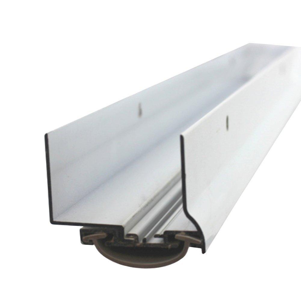 48'' White Adjustable Door Bottom Weatherstrip