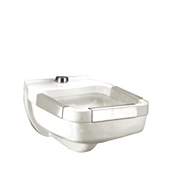 American Standard 9512.013.020 Clinic Service Sink With Blow Out Flushing  Rim Action And 1