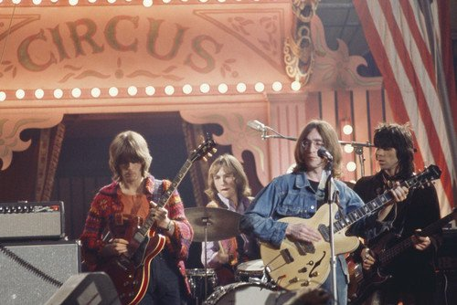 John Lennon Rock & Roll Circus 1968 Eric Clapton Keith Richards 24x36 Poster