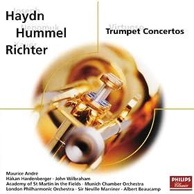 Amazon.com: Haydn/Hummel/Richter: Virtuoso Trumpet Concertos: Håkan