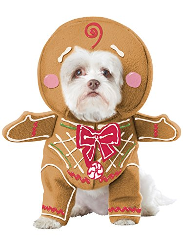 California Costume Collections Gingerbread Pup Dog Costume, -
