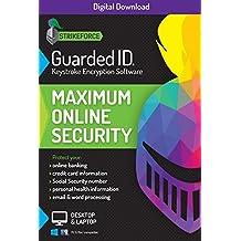 GuardedID Anti-Malware Keystroke Encryption Software | 1 Year, 2 Devices | PC, Mac | Download [Online Code]