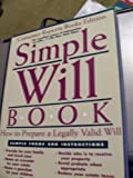 Simple Will Book, Denis Clifford, 089043672X