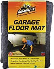 Whether you want to give your garage a new look, expand your living space or showcase your ride, the Armor All Garage Floor Mats are an easy to install and affordable floor covering option for your garage, laundry room, basement, etc. The car...