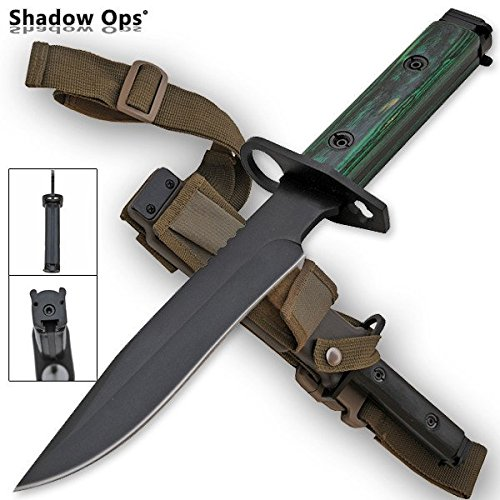 Used, Shadow OPS Heavy Duty Bayonet Full Tang Drop Point for sale  Delivered anywhere in USA