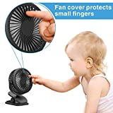 Stroller Fan, Cambond Clip On Fan Battery Powered