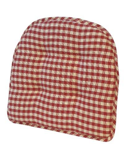 Klear Vu 41402-07 Gripper Teapot Chairpad, (Red Gripper)