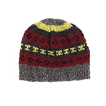 Mixed Beanie Hats  Hand Made in Nepal - Assorted Colours  Amazon.co.uk   Clothing 40ad41fa37be