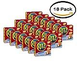 PACK OF 18 - Nabisco Ritz Crackers Hint Of Salt, 13.7 OZ
