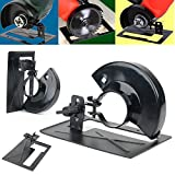 WILLAI Adjustable Angle Grinder Cutting Machine Angle Grinder Stand Holder Support Base DIY Woodworking Tools Mayitr