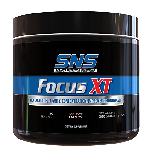 Serious Nutrition Focus XT, Cotton Candy ,Fat Free 30 servings by Serious Nutrition Solution