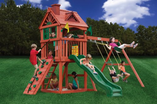 - Gorilla Playsets Nantucket Swing Set