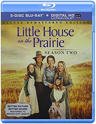 Little House On The Prairie Season 2 Deluxe Remastered Edition [Blu-ray] (Ideal Dvd Copy)