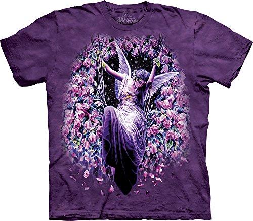 The Mountain Gatekeeper T-Shirt, 3X-Large, Purple (Tee Gatekeeper)