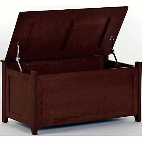 UPC 796995084100, 37.75 in. Toy Box in Cherry Finish