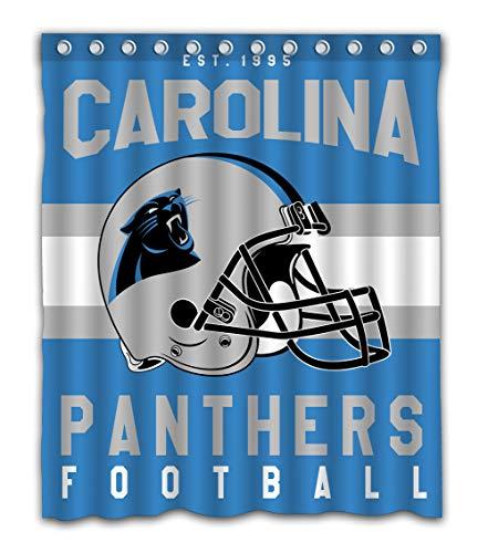 - Weckim Custom Carolina Football Team Waterproof Fabric Shower Curtain Colorful Design for Bathroom Decor 12 Holes Size 60x72 Inches