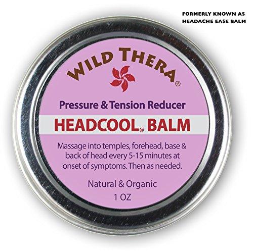 Headache Pillow (Headache Migraine Relief. Herbal Balm with Essential Oils. Tension Headache, Sinus Headache, Stress Anxiety Relief. Safe to use with Headache Pillow, migraine mask, ice pack, migraine glasses.)
