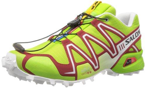 SALOMON Speedcross 3 Zapatilla de Trail Running Caballero, Verde, 41 1/3