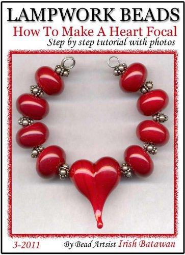 Lamp Bead Heart - How To Make A Heart Lampwork Bead