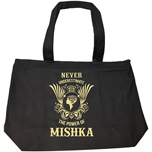 Never Underestimate The Power Of Mishka - Tote Bag With Zip
