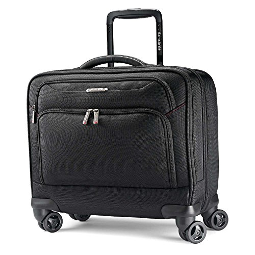 Samsonite Xenon 3.0 Spinner Mobile Office Laptop Bag, Black, One Size (Case Zenon Black)