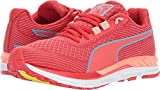 PUMA Women's Speed 600 S Ignite Poppy Red/Neutral Gray Turquoise 6 B US For Sale