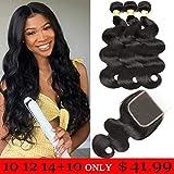 Best Hair Bundles - Mureen Brazilian Hair With Closure 8A 3 Bundles Review