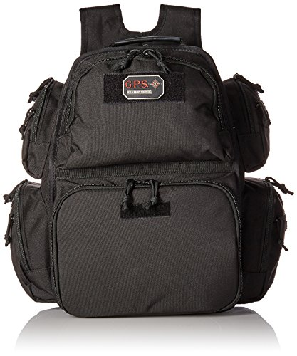 G.P.S. The Executive Backpack, Black by G.P.S.
