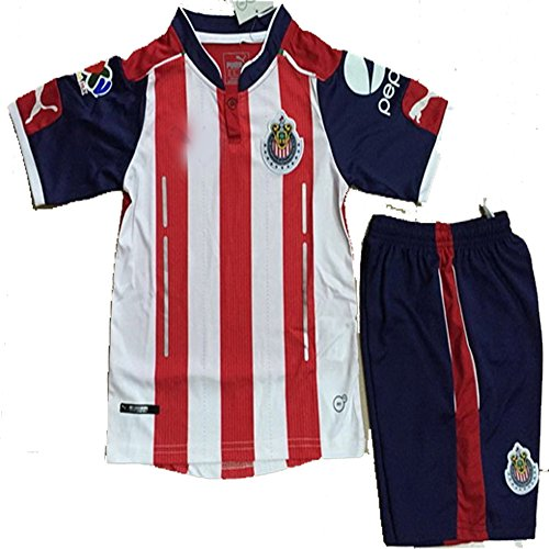 chivas-de-guadalajara-home-jersey-16-17-kid-youth-with-short-by-honestbiz-kid-size-26-9-10-years-old
