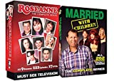 Roseanne Complete Series + Married With Children Complete Series TV Bundle