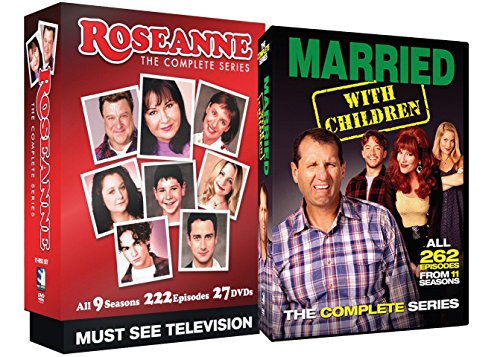 Roseanne Complete Series + Married With Children Complete Series TV Bundle from Unknown