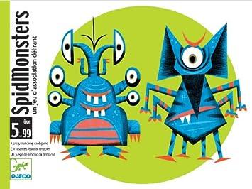Djeco - Cartas spidmonsters: Amazon.es: Juguetes y juegos