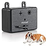 Best Dog Bark Controls - Vicvol Upgrade Mini Bark Control Device, Outdoor Anti Review