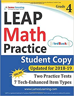 LEAP Online Assessments and 4th Grade Math Practice