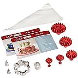 Cake Boss Flower Cake Kit Decorating Tools, Stainless Steel