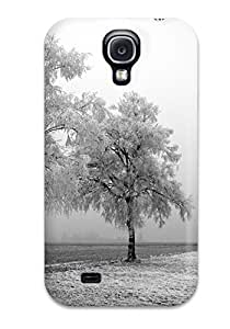 New Arrival Case Cover With WrIClNR5648QsqLx Design For Galaxy S4- Frozen Trees