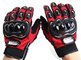 Motorcycle Racing Sport Black Pro-Biker Motocross Outdoor Armor Protection Carbon Fiber Gloves Size L Fit For Ducati Monster 748 749 750 848 851 860