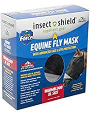 Manna Pro Insect Shield Opti-Force Fly Mask X-Large