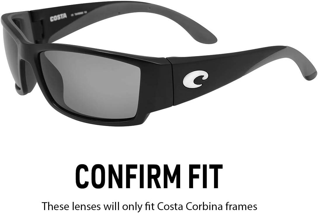 12 Colors Polarized IKON Replacement Lenses for Costa Del Mar Corbina Sunglasses
